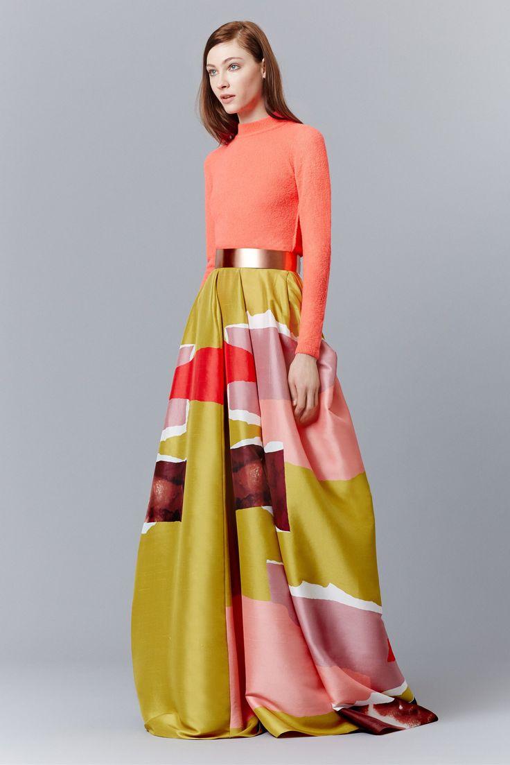 Roksanda Pre-Fall 2015 Fashion Show Collection