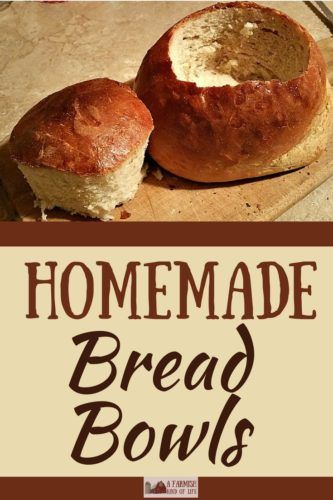 Love bread bowls but think they're too hard to make yourself? Pshaw. You can totally handle homemade bread bowls. Learn here. With lots of pictures. :)