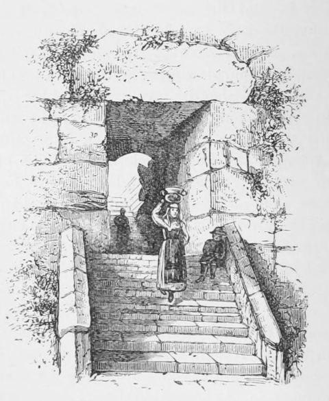 Augustus Hare. Cyclopean Gate of Alatri.