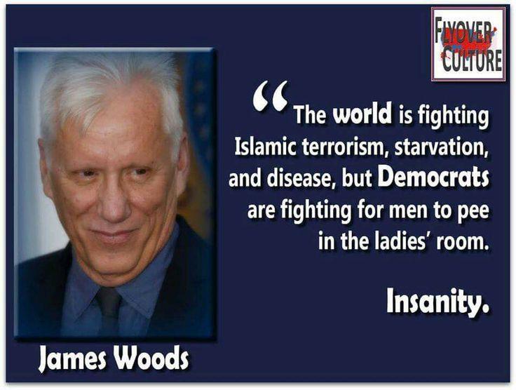❤ James Woods for President!