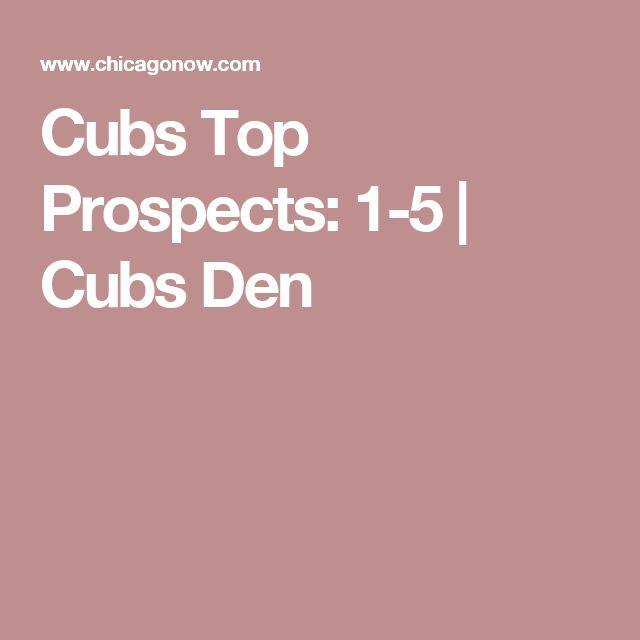 Cubs Top Prospects: 1-5 | Cubs Den