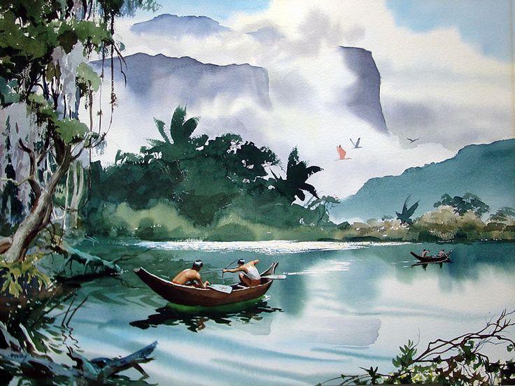 john pike watercolors - Google Search
