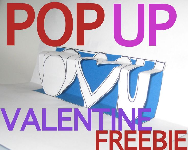 48 best images about pop up – Make Your Own Valentines Card for Free