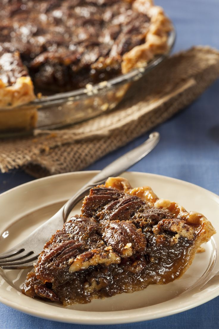 This pecan pie recipe comes from High Cotton in Charleston, SC. Serve the pie warm with a scoop of vanilla ice cream to complement the crunchy pecans and gooey molasses. http://www.thedailymeal.com/high-cottons-southern-pecan-pie-recipe