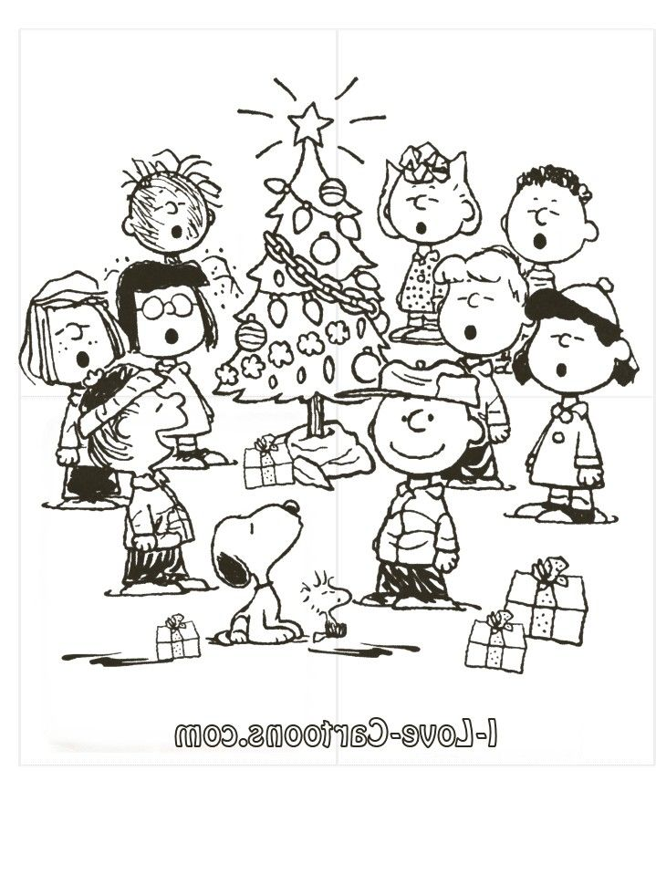 Free Charlie Brown Christmas Coloring Book Printables Quotes And HOlH8XaM