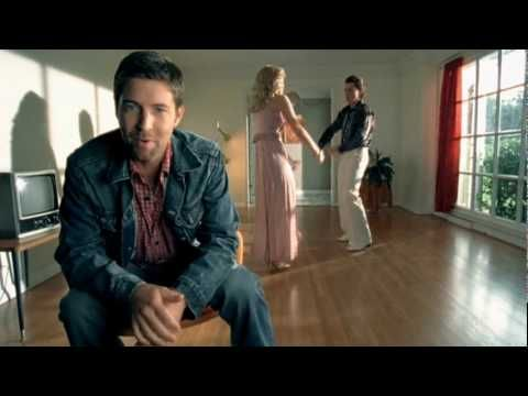 JOSH TURNER ~ Why Don't We Just Dance. This video makes me smile :)