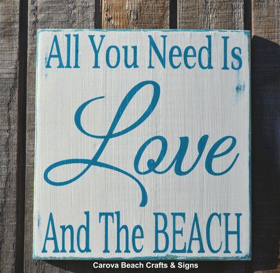 Beach Decor Beach Sign Nautical Decor All by CarovaBeachSignCo