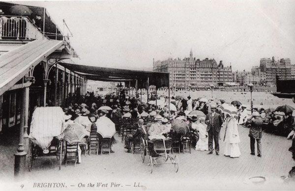 Archive Photo - West Pier Trust - On the West Pier, Brighton