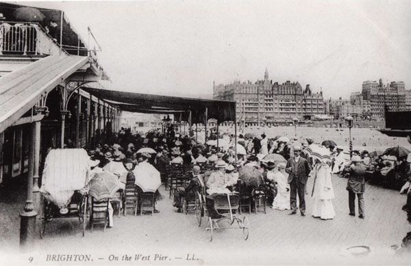 Archive Photo - West Pier Trust - On the West Pier, Brighton
