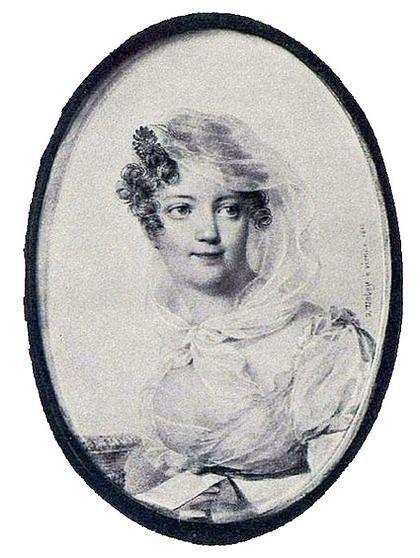Графиня Ю. П. Строганова 1850г
