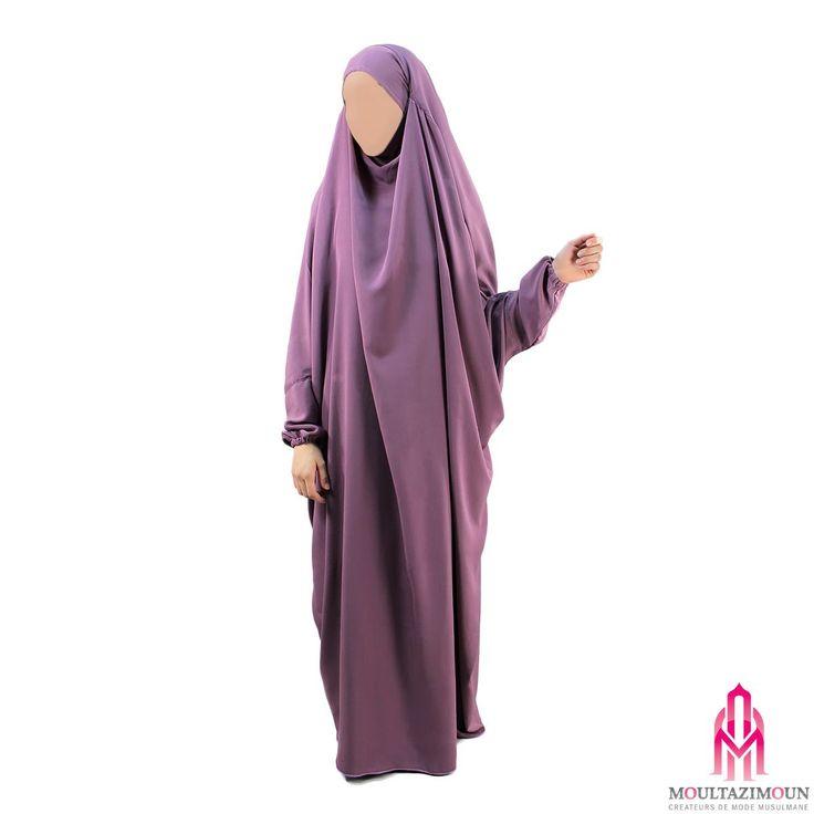 Jilbab Kawthar Prune parfaite - Al Moultazimoun / #Overhead #khimar #jilbab #jilbab #best #abaya #modestfashion #modestwear #muslimwear #jilbabi #outfit #hijabi #hijabista #long #dress #mode #musulmane #clothing