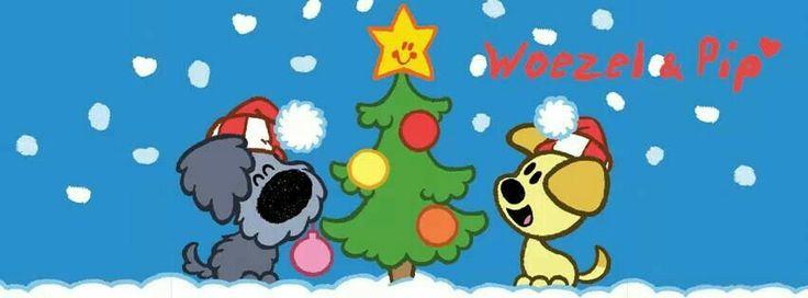 Kerst woezel en pip