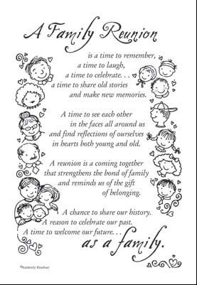 reunion clip art | Family Reunion Poem - $1.19 : Beyond Scrapbooks, Beautiful pages made ...