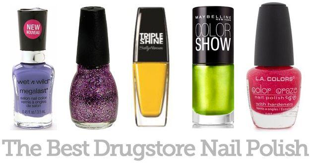 The Best Drugstore Nail Polish