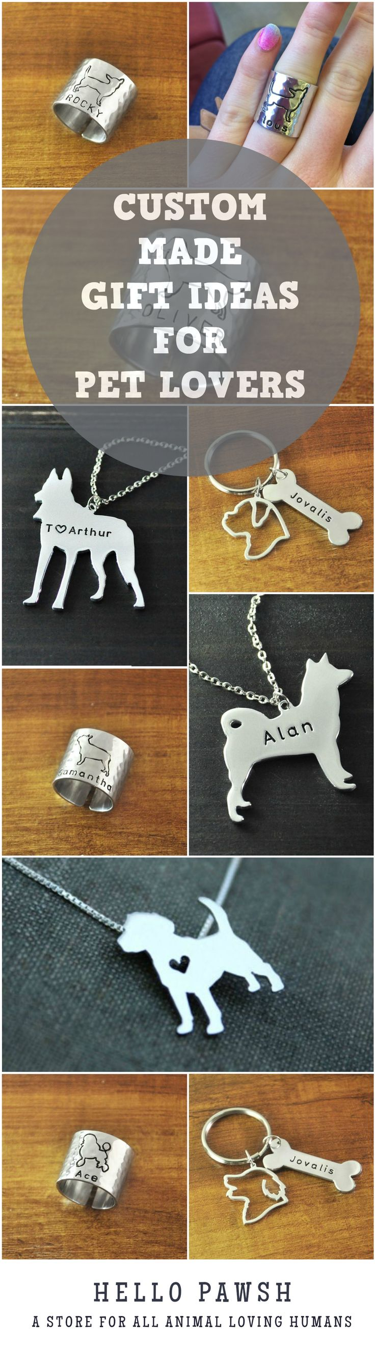Check out these great personalized items for dog lovers! They make perfect and thoughtful gifts for your dog loving friends and families! They are perfect Mother's day gifts for all dog loving moms! #dog #doglovers