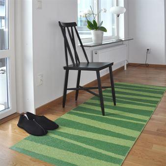 Åre matta grön-mörkgrön - 70x100 cm - Sofie Sjöström Design