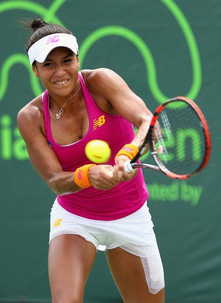 Heather Watson Photos - Miami Open - Day 8 - Zimbio