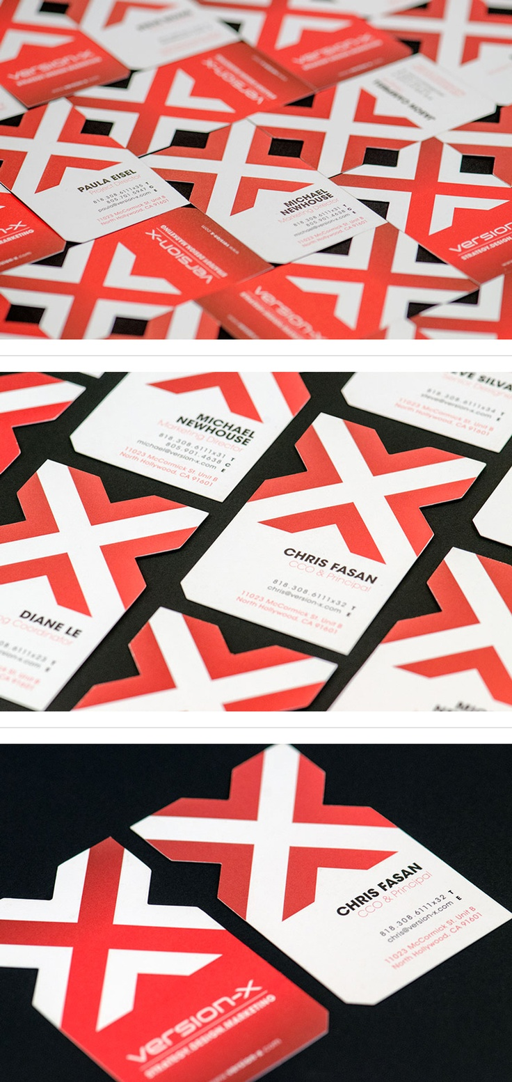 Version-X Business Cards