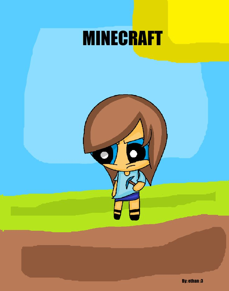 A game called Minecraft and Steve the main character did a gender bend!