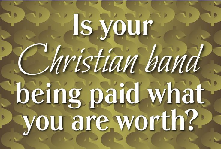 How much should your Christian band charge to play a show? Bookers pay you to do a job. They pay according to how well your band to fulfills their needs. http://wp.me/p5hcFj-eD