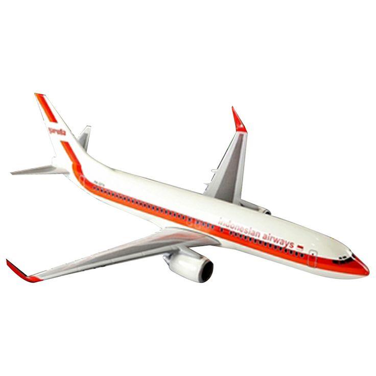 A1toys pesawat terbang Garuda Old Livery Boeing 737-800 NG - 38 cm 585rb