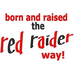 The Red Raider Way - 3 Sizes! | Sport Teams | Machine Embroidery Designs | SWAKembroidery.com Band to Bow