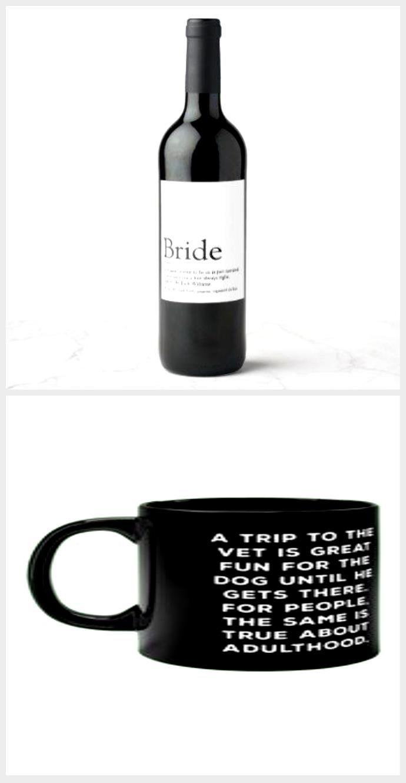 Bride Definition, Bridal Shower, Wedding Wine Label ...