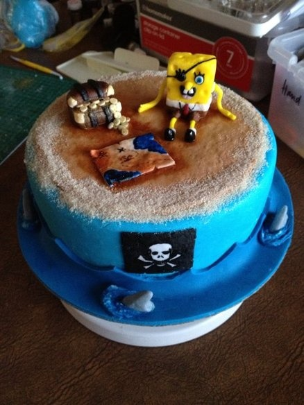 1000+ images about Spongebob Cakes on Pinterest Bobs, Birthdays and Cakes