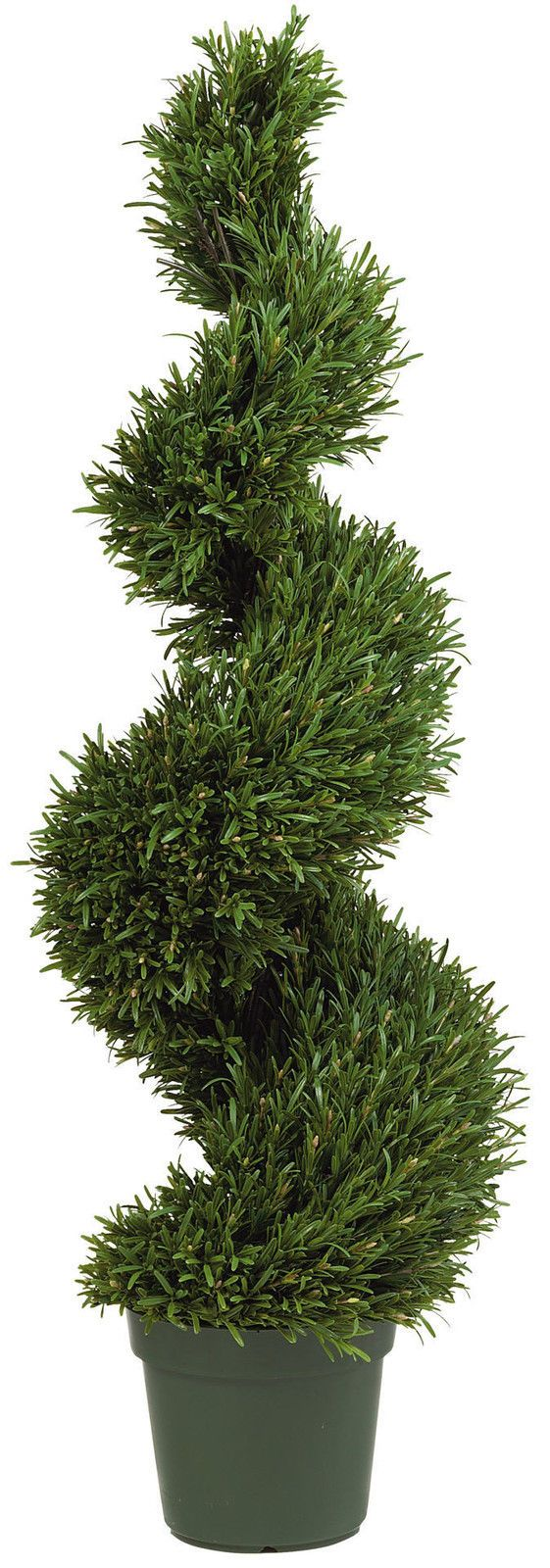 Artificial Rosemary Spiral, 3ft, 4ft or 5ft high -just the best Artificial Topiary Tree there is, from Red Hot Plants.