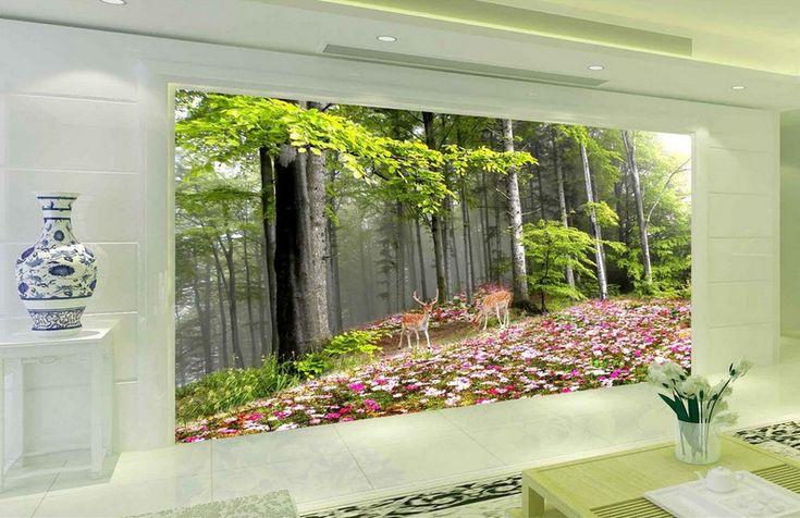 3D Waldblumen Natür 47 Tapete Tapeten Mauer Foto Familie Tapete Wandgemälde DE