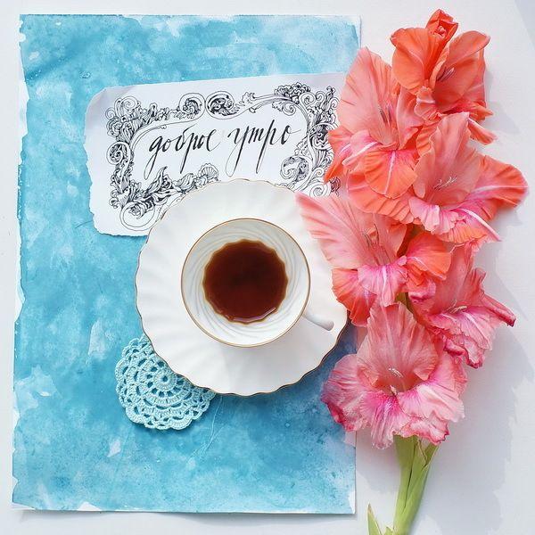 функциональном оригинальная открытка с добрым утром на телефон секунд держал