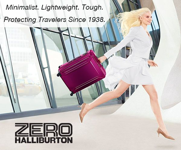 Travel the world with the most durable and lightweight luggage