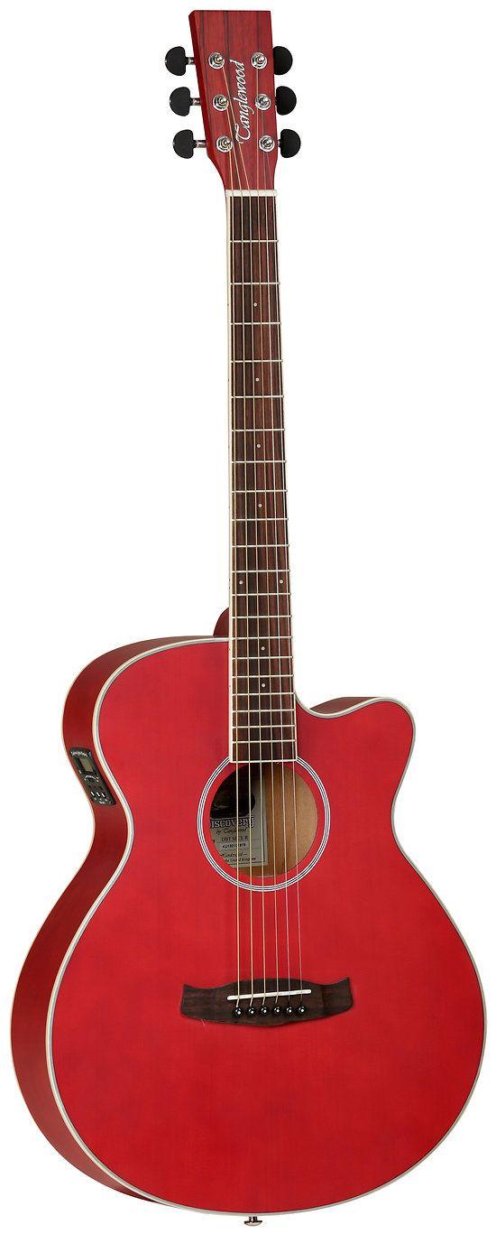 Tanglewood Guitare Electro-acoustique Discovery Sundance Super FOLK DBTSFCERM