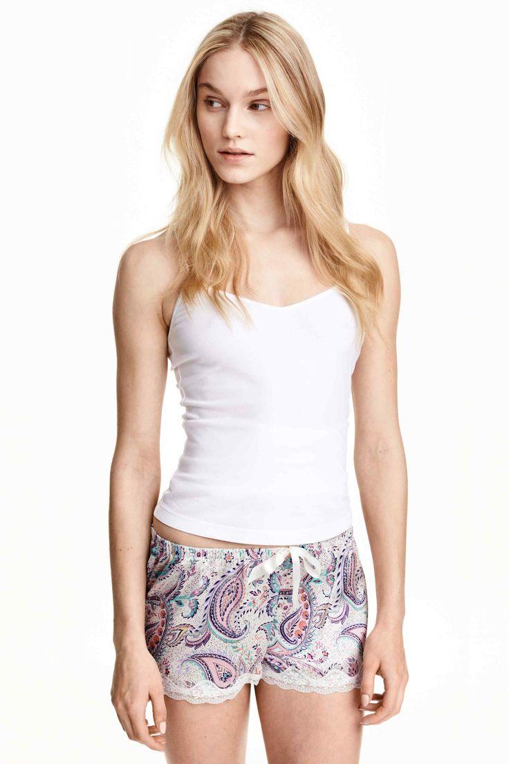 2 pantalones cortos de pijama | H&M