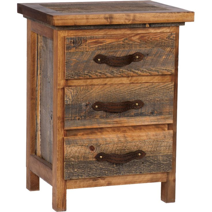 Awesome Diy Bedroom Furniture Ideas: 25+ Best Ideas About Rustic Nightstand On Pinterest