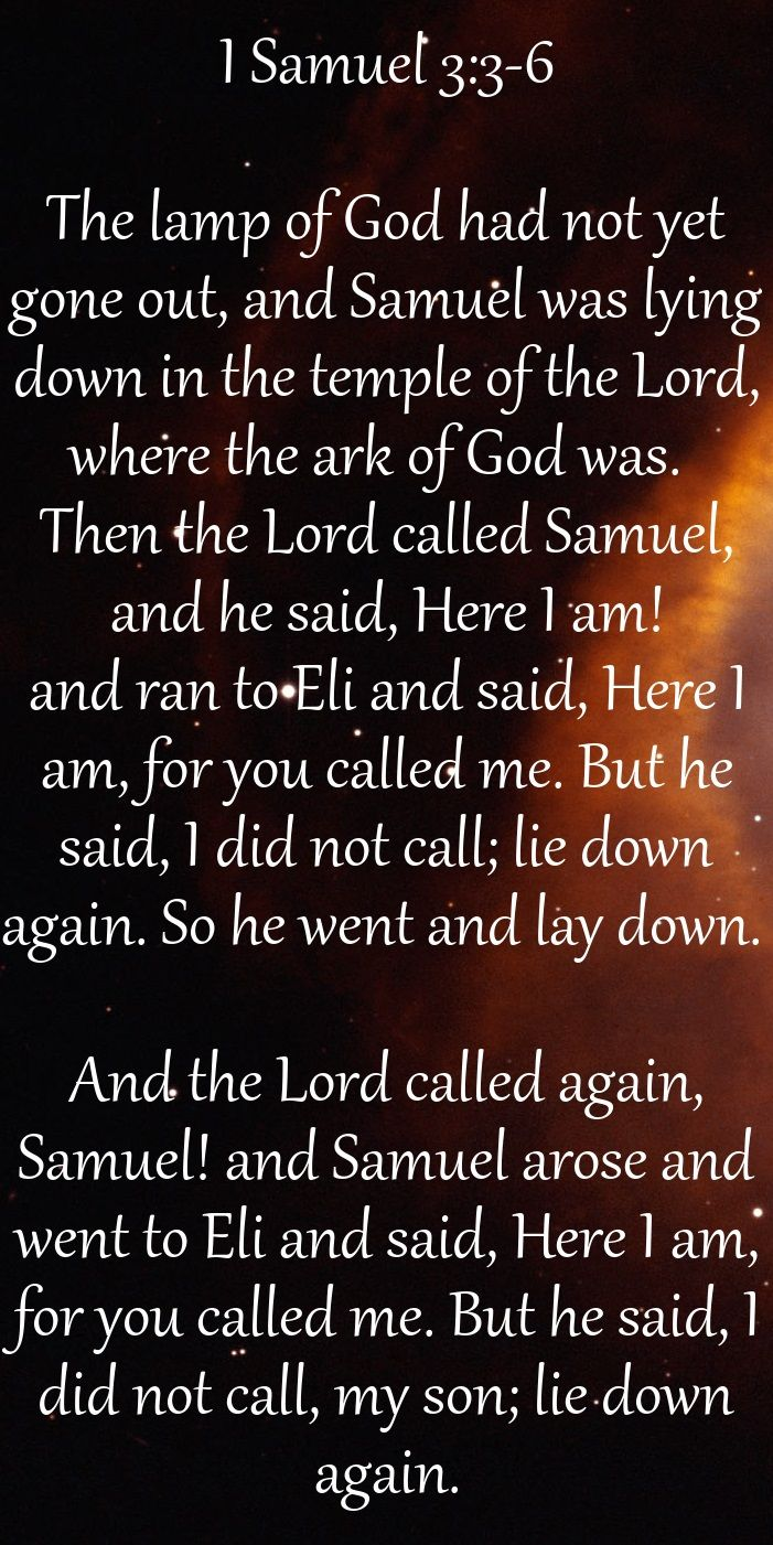 I Samuel 3 3 6 The Lamp Of God Had Not Yet Gone Out And Samuel Was Lying Down In The Temple Of The Lord Where The Forgiveness Of Sin Sayings Know The Truth
