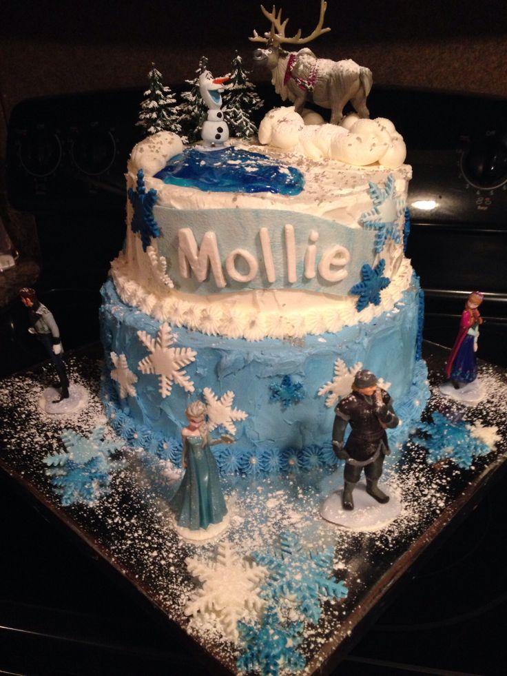 My second Disney's Frozen cake.
