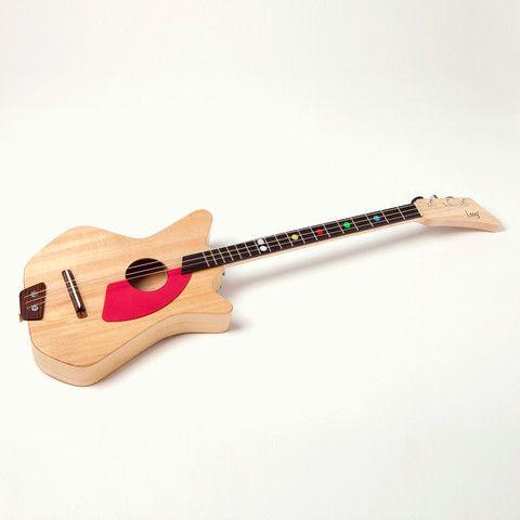 Three string Loog guitar for kids - super cool!