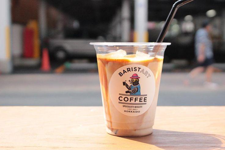 北海道札幌でしか味わえないクマのマークが目印のバリスタートコーヒー