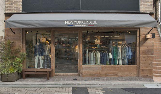 ブランドデビュー1周年を迎え、「NEWYORKER BLUE」原宿店がオープン NEWYORKER