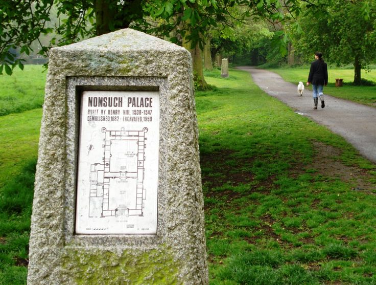 History of Nonsuch Palace. Nonsuch Park is our local park. The site of King Henry VIII spectacular, but ill fated, Nonsuch Palace.