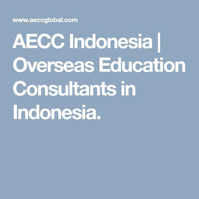 AECC Indonesia | Overseas Education Consultants in Indonesia.