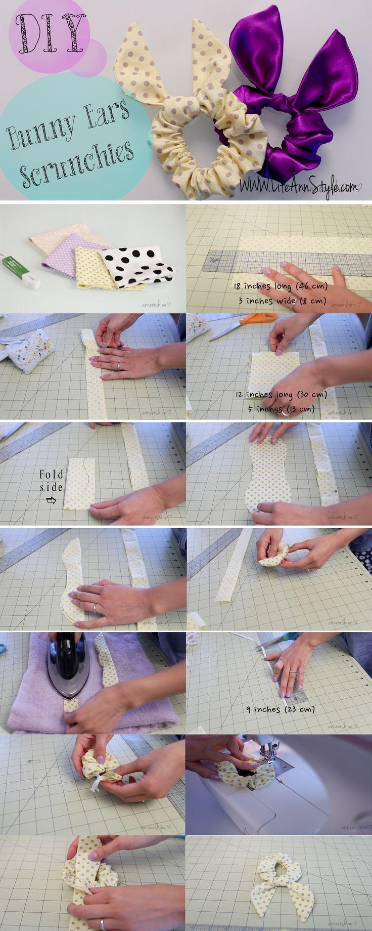 DIY-Projekte für Sie, um einen schönen Scrunchie zu machen