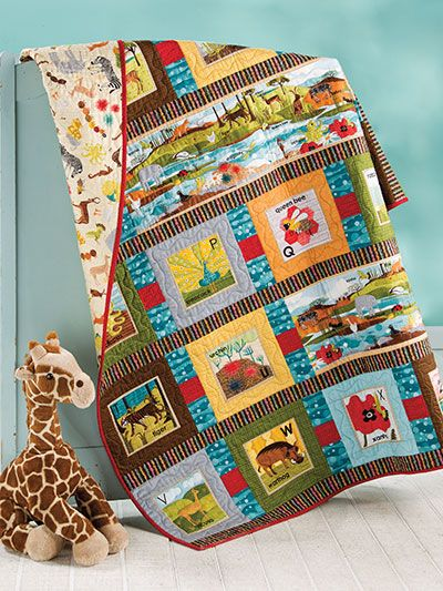 10 Best images about Baby & Children Quilt Pattern Downloads on Pinterest Kid quilts, Animal ...
