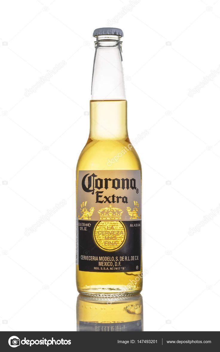 Editorial Photo De Bière Corona Extra Isolé Sur Blanc Photo Avec Images Biere