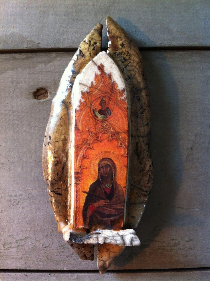 """Fresco"" is currently on display at Deja Vu Gallery on Block Island, RI"