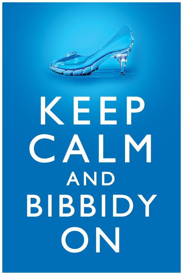 """Keep Calm and Bibbidy On: Disney Princess Half Marathon! Would be cute to give to an actual godmother or to a mother as a """"thank-you"""" for all of the magic they pull to make a magical day!"""