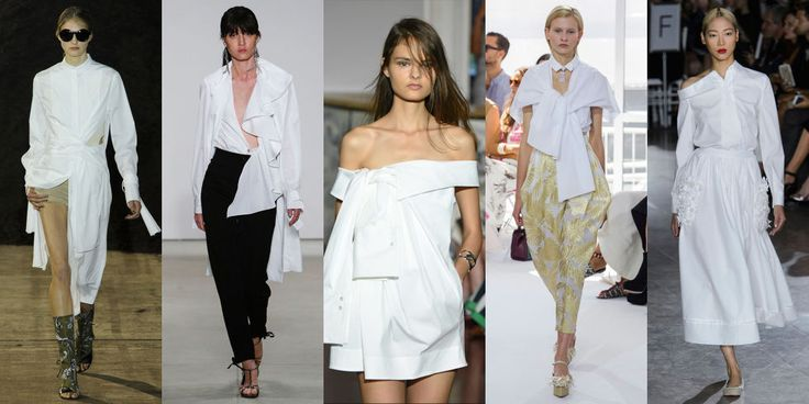 A basic white button down for spring? Not if you're 3.1 Phillip Lim, Tome, Monse, Delpozo, or Zac Posen. This season the classic oxford received a designer makeover, taking it from simple to souped-up.