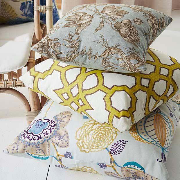 Warwick Fabrics, CORNUCOPIA collection / upholstery and drapery prints #warwickfabrics #fabric #textiles