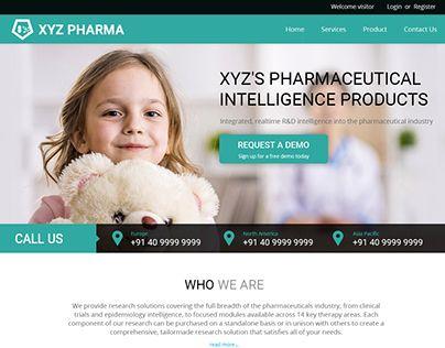"Check out new work on my @Behance portfolio: ""Pharma Website UI/UX"" http://be.net/gallery/48927629/Pharma-Website-UIUX"